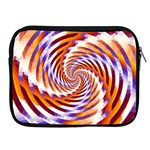 Woven Colorful Waves Apple iPad 2/3/4 Zipper Cases Front