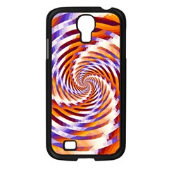 Woven Colorful Waves Samsung Galaxy S4 I9500/ I9505 Case (black)