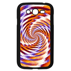 Woven Colorful Waves Samsung Galaxy Grand Duos I9082 Case (black)