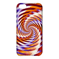Woven Colorful Waves Apple Iphone 5c Hardshell Case