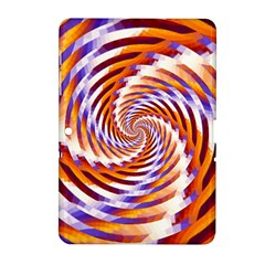 Woven Colorful Waves Samsung Galaxy Tab 2 (10 1 ) P5100 Hardshell Case