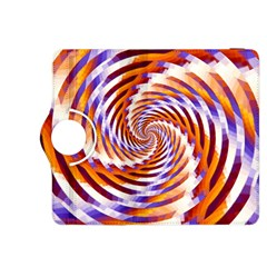 Woven Colorful Waves Kindle Fire Hdx 8 9  Flip 360 Case