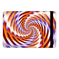 Woven Colorful Waves Samsung Galaxy Tab Pro 10 1  Flip Case