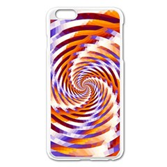 Woven Colorful Waves Apple Iphone 6 Plus/6s Plus Enamel White Case