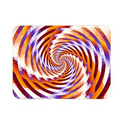 Woven Colorful Waves Double Sided Flano Blanket (mini)