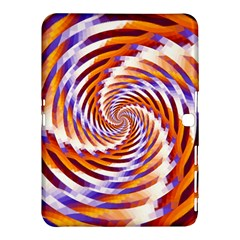Woven Colorful Waves Samsung Galaxy Tab 4 (10 1 ) Hardshell Case