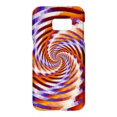Woven Colorful Waves Samsung Galaxy S7 Hardshell Case