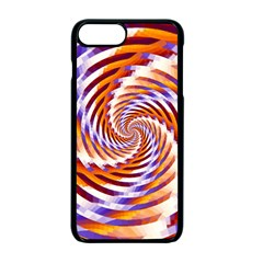 Woven Colorful Waves Apple Iphone 7 Plus Seamless Case (black)