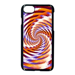 Woven Colorful Waves Apple Iphone 7 Seamless Case (black)