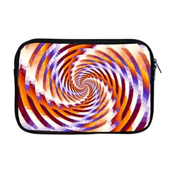 Woven Colorful Waves Apple Macbook Pro 17  Zipper Case