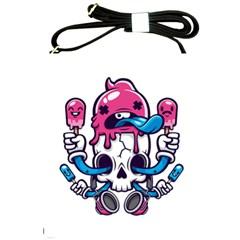 Ice Cream Skull Shoulder Sling Bags