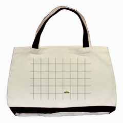 Pie Cooling On The Window Pane Pattern Basic Tote Bag (two Sides)