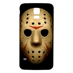 Jason Hockey Goalie Mask Samsung Galaxy S5 Back Case (white)
