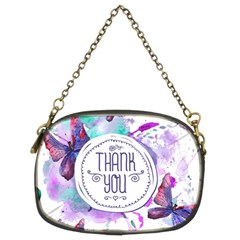 Thank You Chain Purses (two Sides)