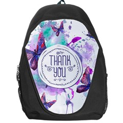 Thank You Backpack Bag