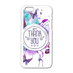 Thank You Apple Iphone 6/6s White Enamel Case