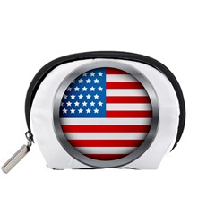 United Of America Usa Flag Accessory Pouches (small)