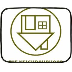 The Neighbourhood Logo Fleece Blanket (mini)