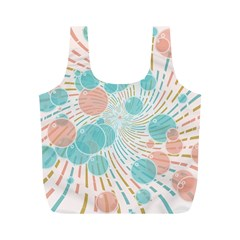 Bubbles Full Print Recycle Bags (m)