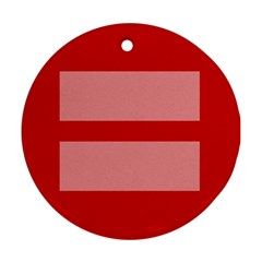 Marriage Equality Ornament (round)