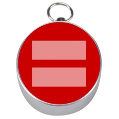 Marriage Equality Silver Compasses