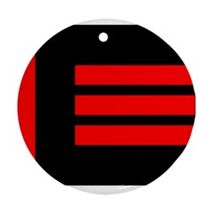 Master Slave Flag Ornament (round)