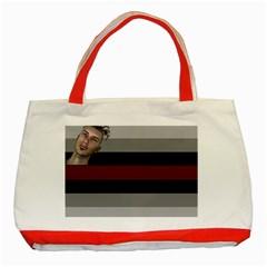 Metrosexual Flag Classic Tote Bag (red)