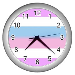 Big Wall Clocks (silver)