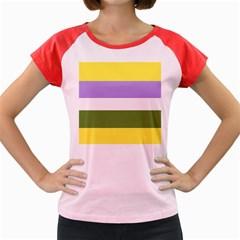 Bin Women s Cap Sleeve T Shirt