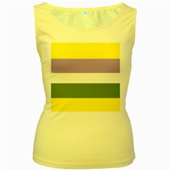 Bin Women s Yellow Tank Top