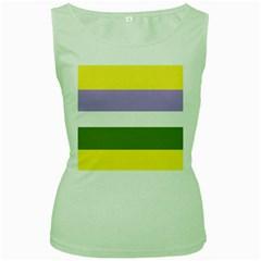 Bin Women s Green Tank Top