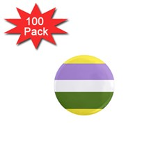 Bin 1  Mini Magnets (100 Pack)