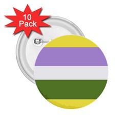 Bin 2 25  Buttons (10 Pack)