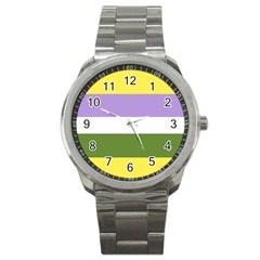 Bin Sport Metal Watch
