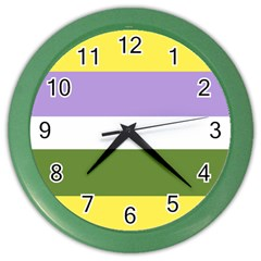 Bin Color Wall Clocks