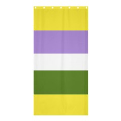 Bin Shower Curtain 36  X 72  (stall)