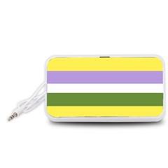 Bin Portable Speaker (white)