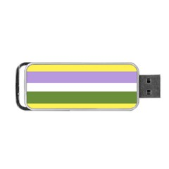 Bin Portable Usb Flash (two Sides)