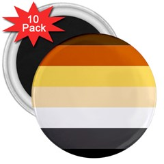 Brownz 3  Magnets (10 Pack)