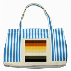 Brownz Striped Blue Tote Bag