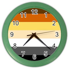 Brownz Color Wall Clocks