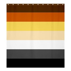 Brownz Shower Curtain 66  X 72  (large)