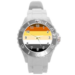 Brownz Round Plastic Sport Watch (l)