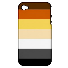 Brownz Apple Iphone 4/4s Hardshell Case (pc+silicone)