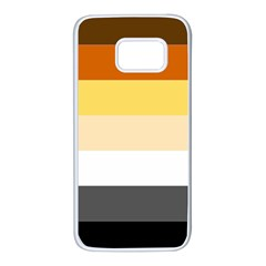 Brownz Samsung Galaxy S7 White Seamless Case