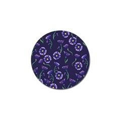Floral Golf Ball Marker
