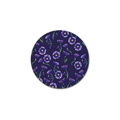 Floral Golf Ball Marker (4 Pack)