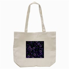 Floral Tote Bag (cream)