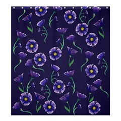 Floral Shower Curtain 66  X 72  (large)