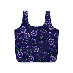 Floral Full Print Recycle Bags (s)